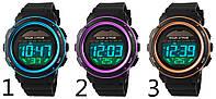 Электронные LED часы Skmei 1096 (водонепроницаемые)