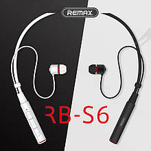 Наушники bluetooth Remax Neckband RB-S6