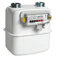 Газовый счетчик Самгаз G 2,5 RS/2001-2 (без гаек 3/4 Пр)