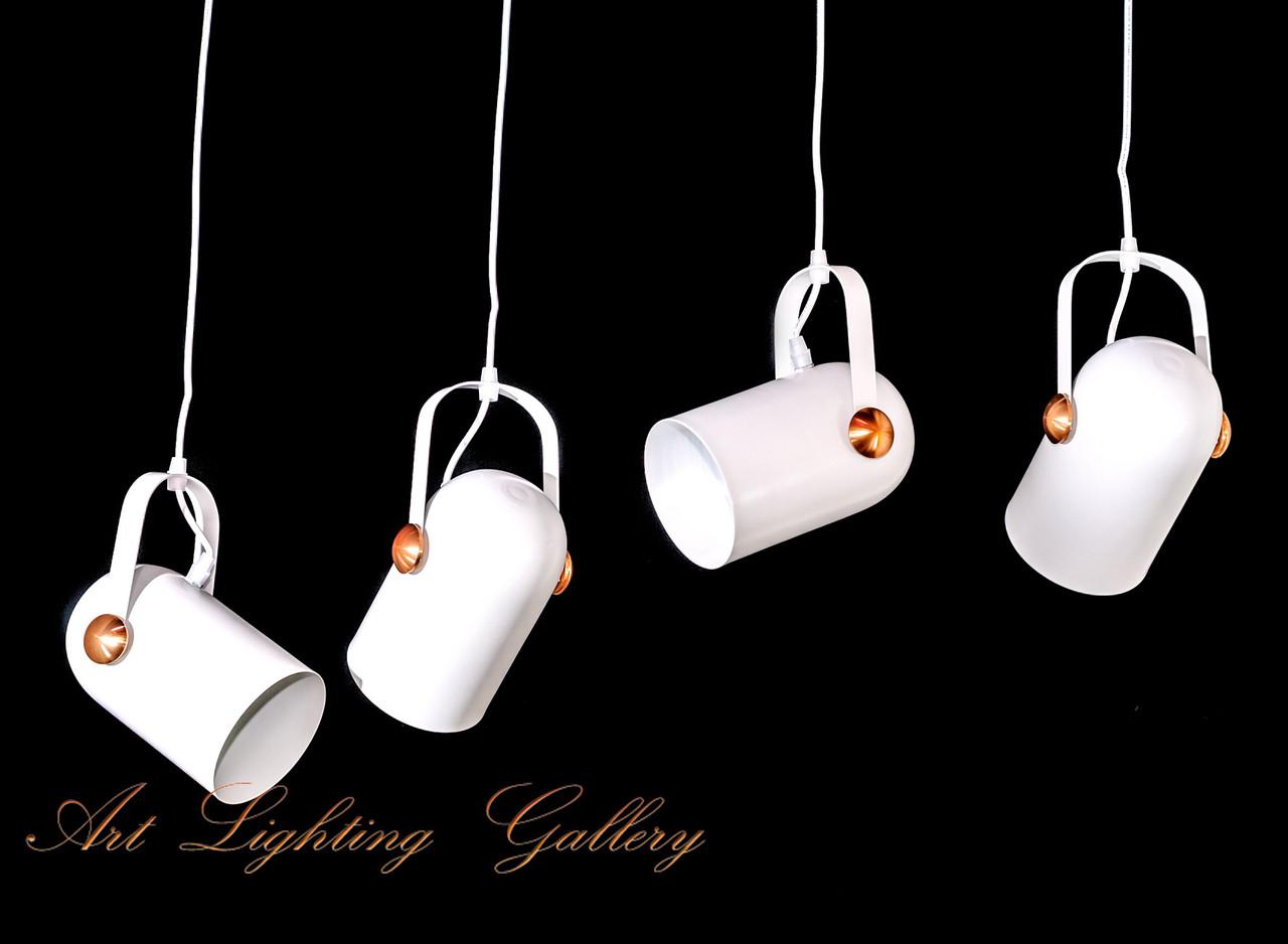 Подвесной Лофт светильник 1518/4WH