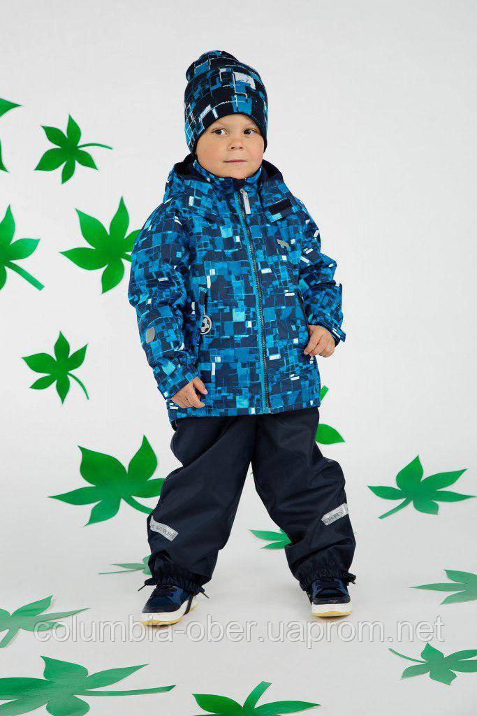 Демисезонный утепленный костюм для мальчика Lenne 18230A-2299. Размеры 104 - 128.