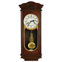 Деревянные настенные часы Tempus с маятником и боем, цвет орех