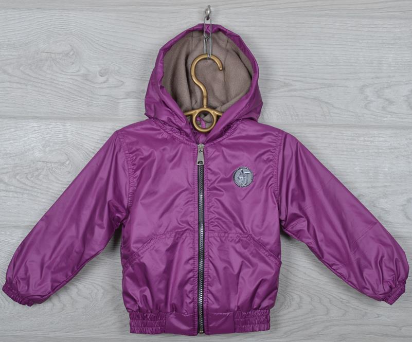 """Куртка-ветровка детская """"Fashion"""". 92-116 см (2-6 лет). Сиреневая. Оптом."""