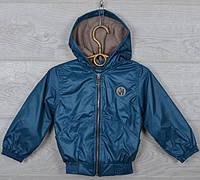 """Куртка-ветровка детская """"Fashion"""". 92-116 см (2-6 лет). Пластилин. Оптом., фото 1"""
