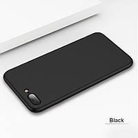 Чехлы для iPhone 7 Plus Uslion Силиконовые матовые Черный