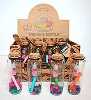 Бутылочка пожеланий 12 шт Wishing bottle  «Послание в бутылке»