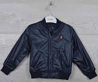 """Куртка-ветровка детская """"Sport"""". 92-116 см (2-6 лет). Темно-синяя. Оптом., фото 1"""