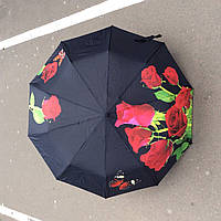 Зонты с принтом ярких цветов