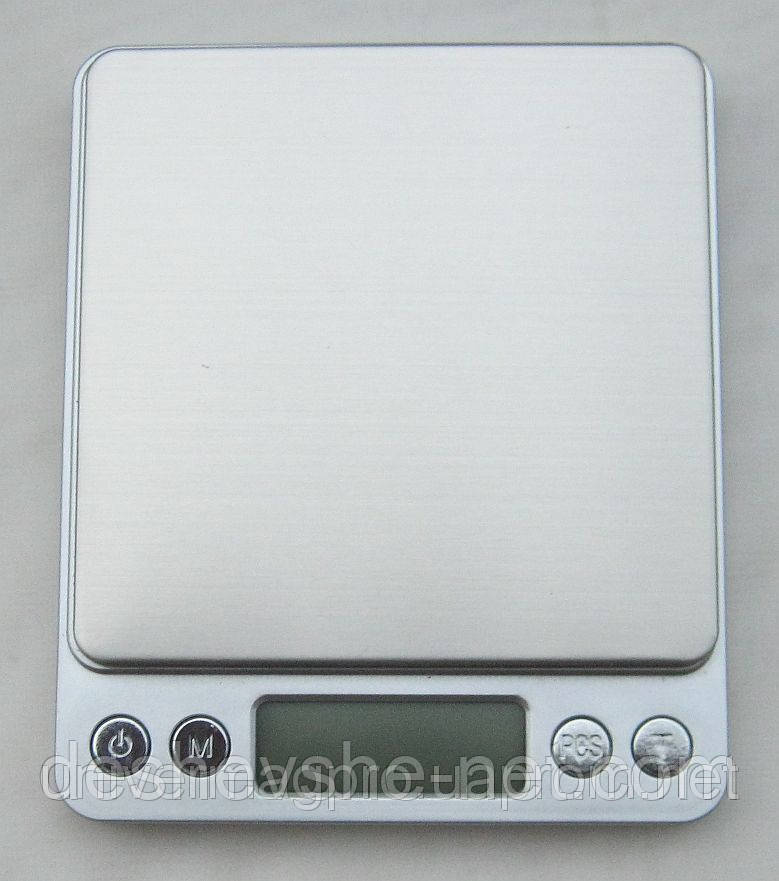 Профессиональные ювелирные весы до 2кг (0,1) + 2чаши