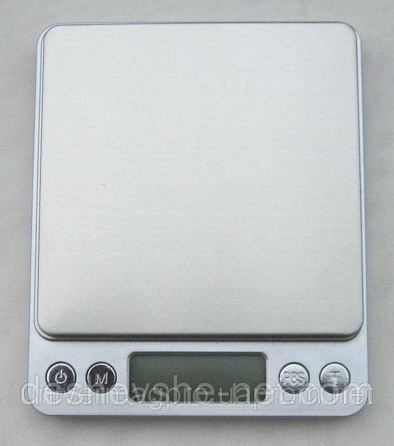 Профессиональные ювелирные весы до 500 (0,01) + 2 чаши