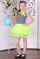 Детское платье BR-33 (лимон)
