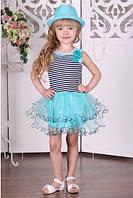 Детское платье BR-33 (мята)