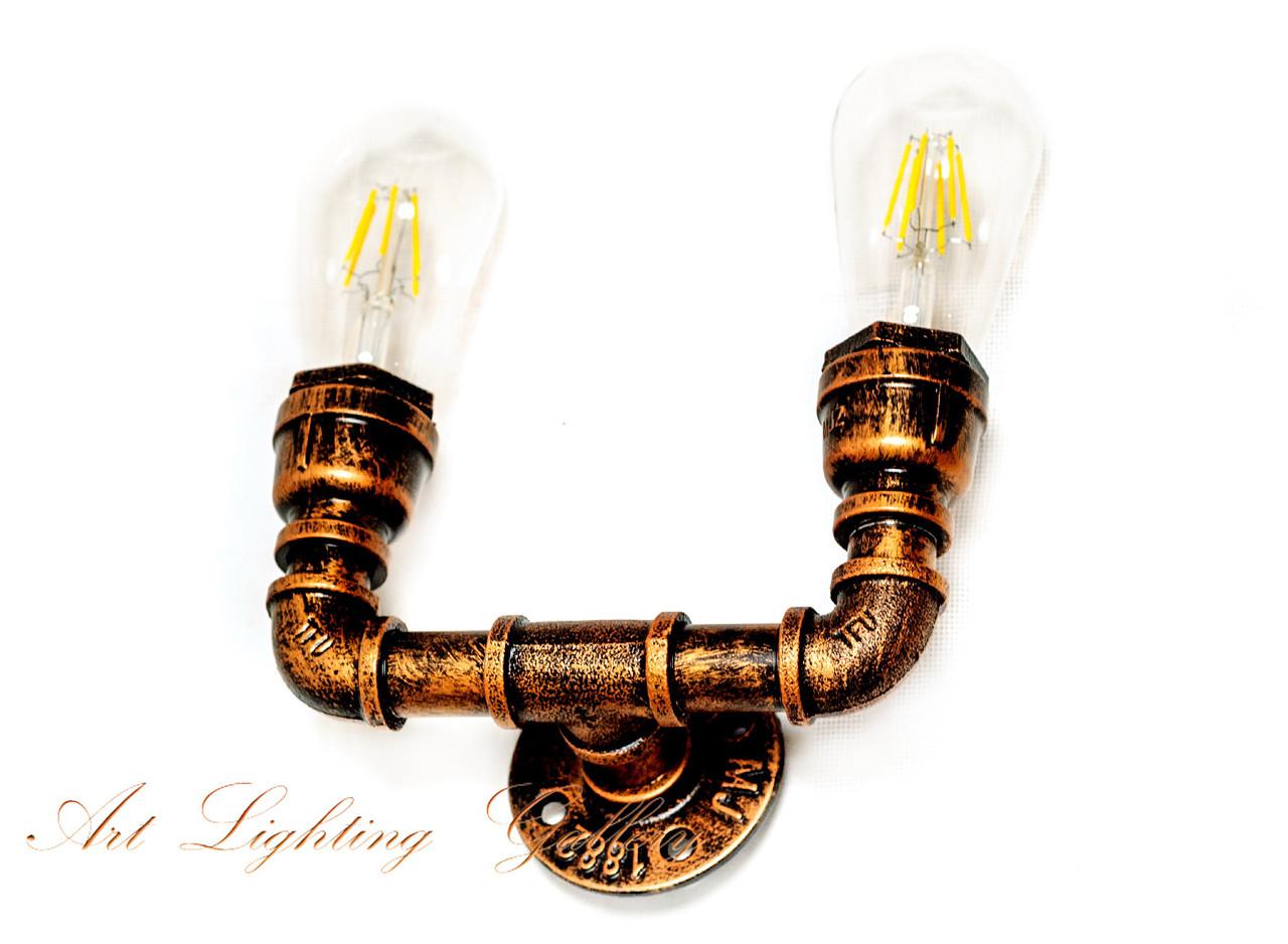 Настенный светильник лофт 040