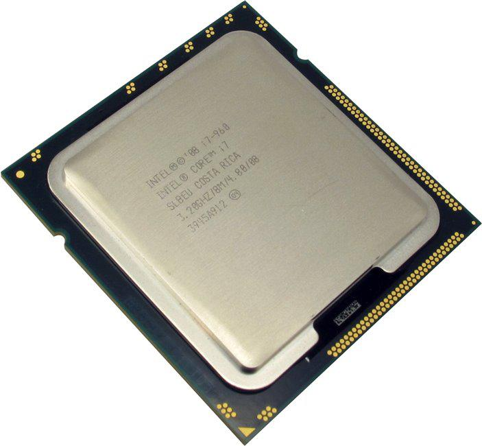 "Процессор Intel Core i7 960 3.2GHz  Bloomfield TRAY Б\У ""Over-Stock"""