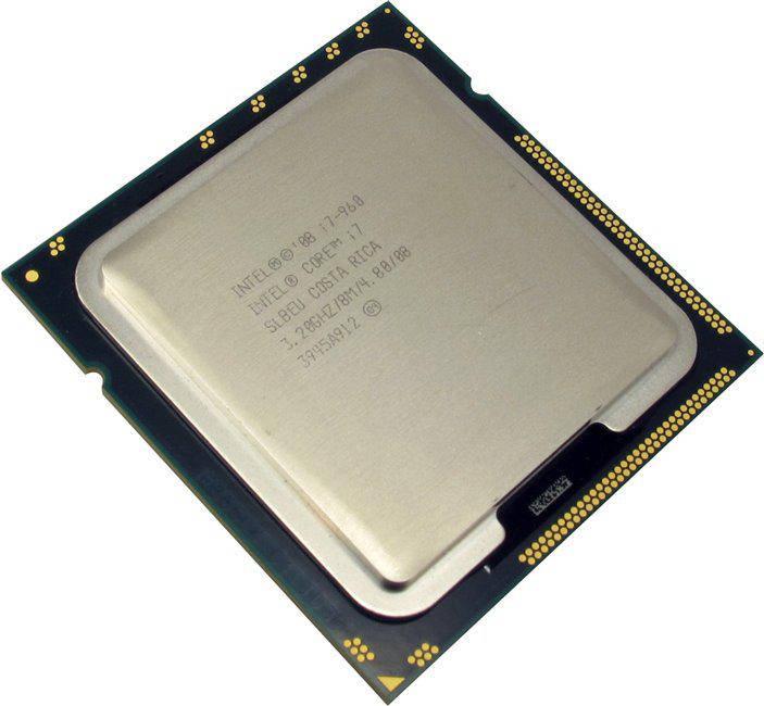 """Процессор Intel Core i7-960 Bloomfield TRAY Б\У """"Over-Stock"""""""