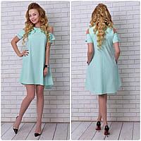 Платье, модель 785, цвет - ментол