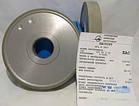 Алмазный шлифовальный круг 125х20х3х32 АПП(прямой профиль)(1А1) Базис АС4 Связка В2-01