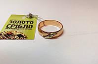 Кольцо золотое, с бриллиантом. Вес 5,52 гр. Размер 20.