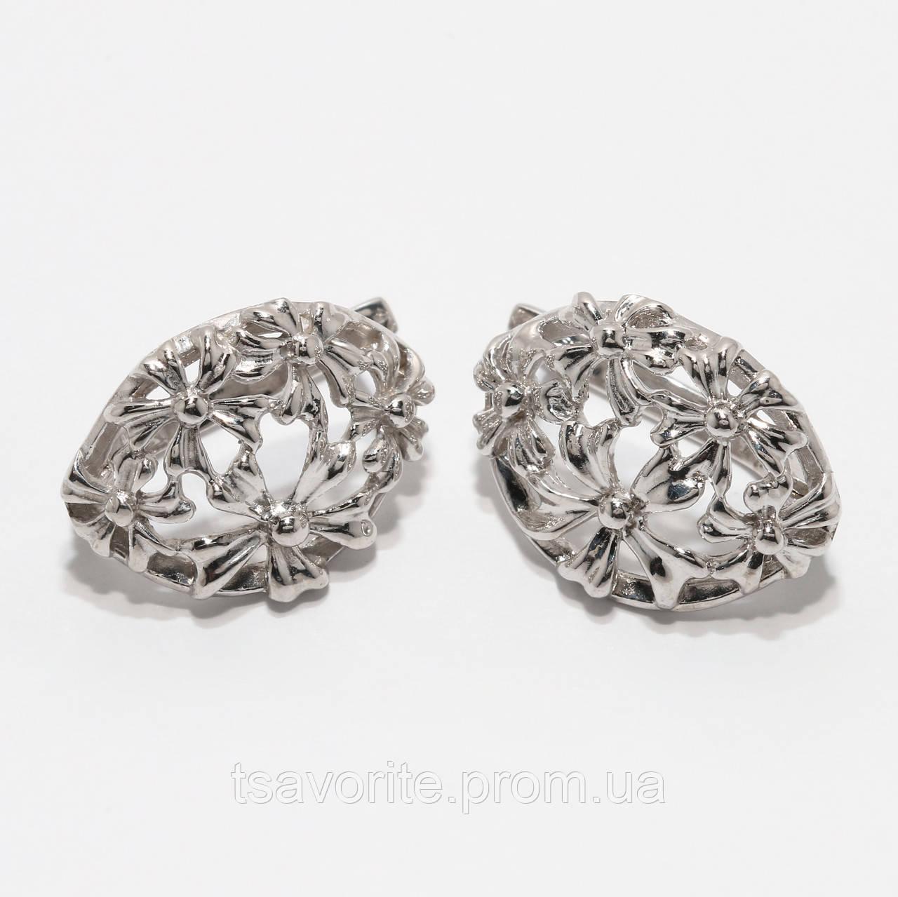 Серебряные серьги 130КН