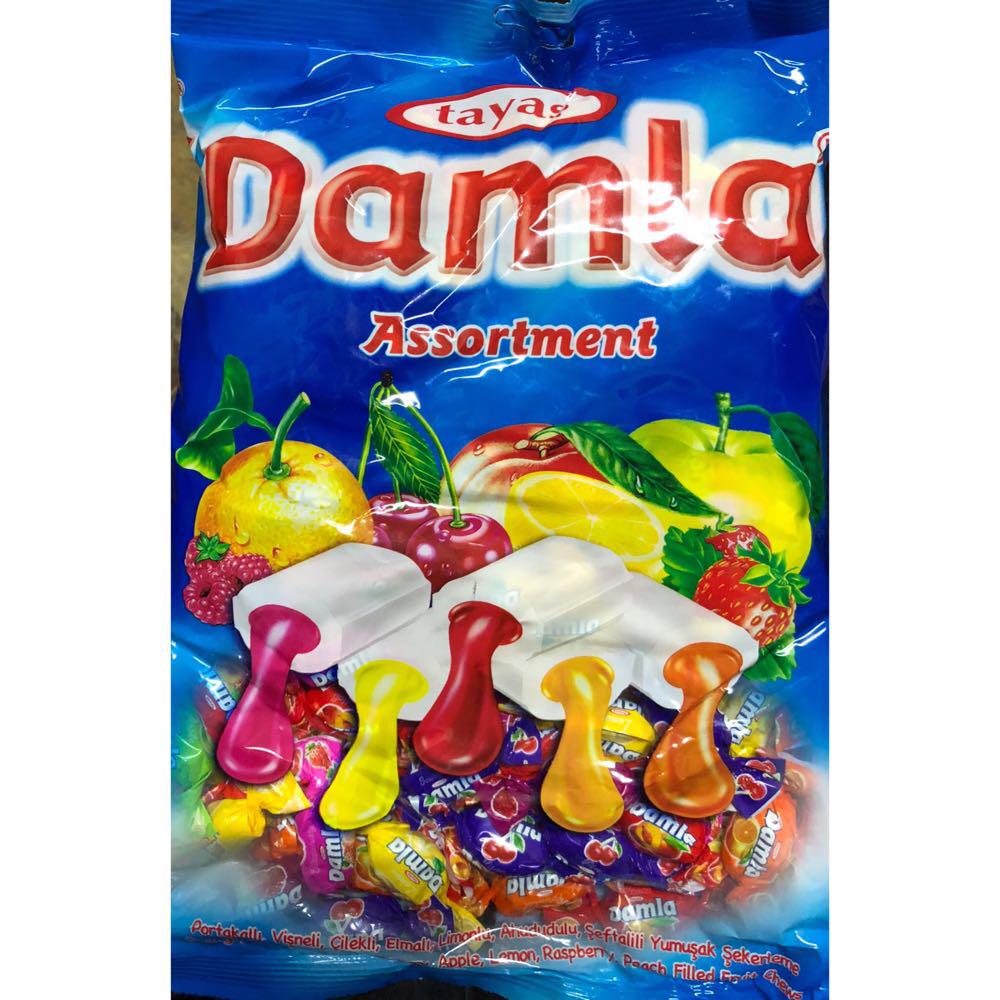 Жевательная конфета Damla TAYAS 1kg