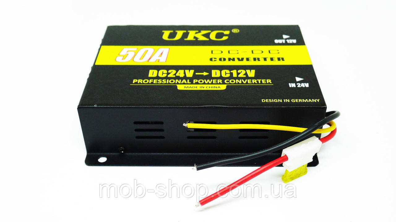 Автомобильный преобразователь UKC 50А 24В в 12В