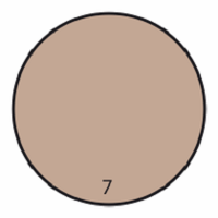 Компактная крем-пудра  mp-35 тон 06