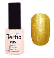 Гель-лак Tertio 10 мл №062 (перламутровый желтый)
