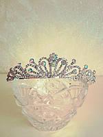 Детская диадема, корона, тиара, высота 3,5 см.