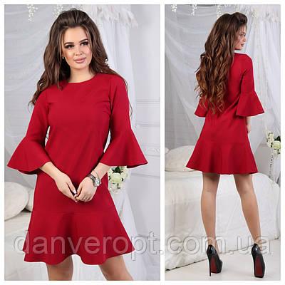 b7ebd7d0985 Платье женское костюмка модное размер S