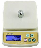 Кухонные весы SF-400A с подсветкой до 5 кг