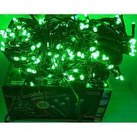 Гирлянда на 300 LED зеленая