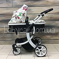 Детская коляска-трансформер 2в1 Wingoffly / Aimile (Бабочки) , фото 1