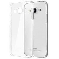 Силиконовый чехол Ultra-thin на Samsung Galaxy J1 SM-J100H Clean Grid Transparent