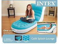 Intex Интекс 68880 Велюр-кресло-шезлонг