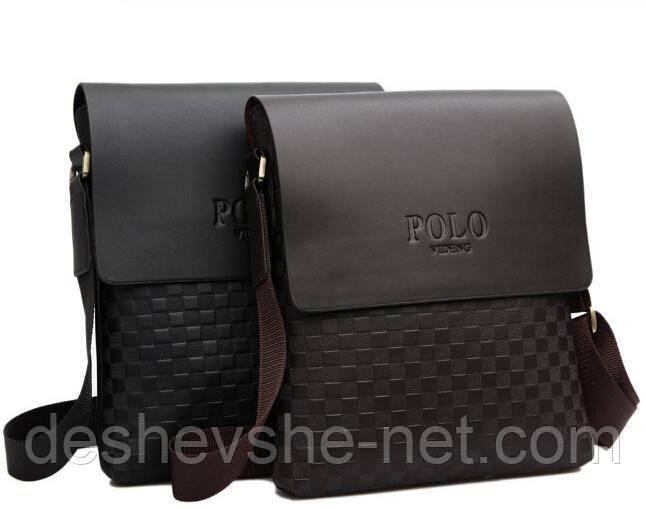Стильная мужская сумка Polo. Сумка через плечо. Барсетка.  продажа ... 8eda5fde2cd88