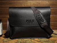Деловой портфель Polo. Мужская сумка Polo. Бизнес сумка через плече, фото 1