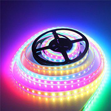 "Пиксельная светодиодная лента ""Digital RGB"" 5050 60 LED/m, RGB RW 1LED IP65 WS2812 PIXEL STRIP"