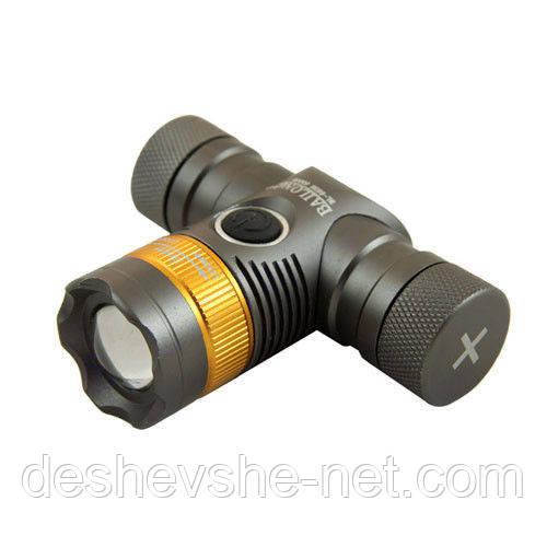 Налобный фонарь Bailong BL-6836-T6 +подарок