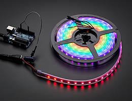 """Піксельна світлодіодна стрічка """"Digital RGB"""" SMD 5050 60 LED/m, RGB RW 1LED IP67 WS2812 PIXEL STRIP"""