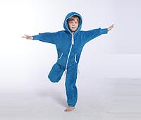 Комбинезон плюшевый детский blue, в наличии и под заказ