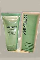 Гель-пилинг для лица Shiseido Green Tea
