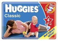 """Подгузники """"Huggies Classic"""" 4 (7-18кг) - 66шт"""
