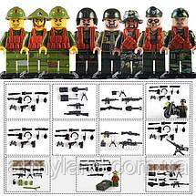Военные фигурки,Набор Война во Вьетнаме военный конструктор, аналог лего, BrickArms, фото 3