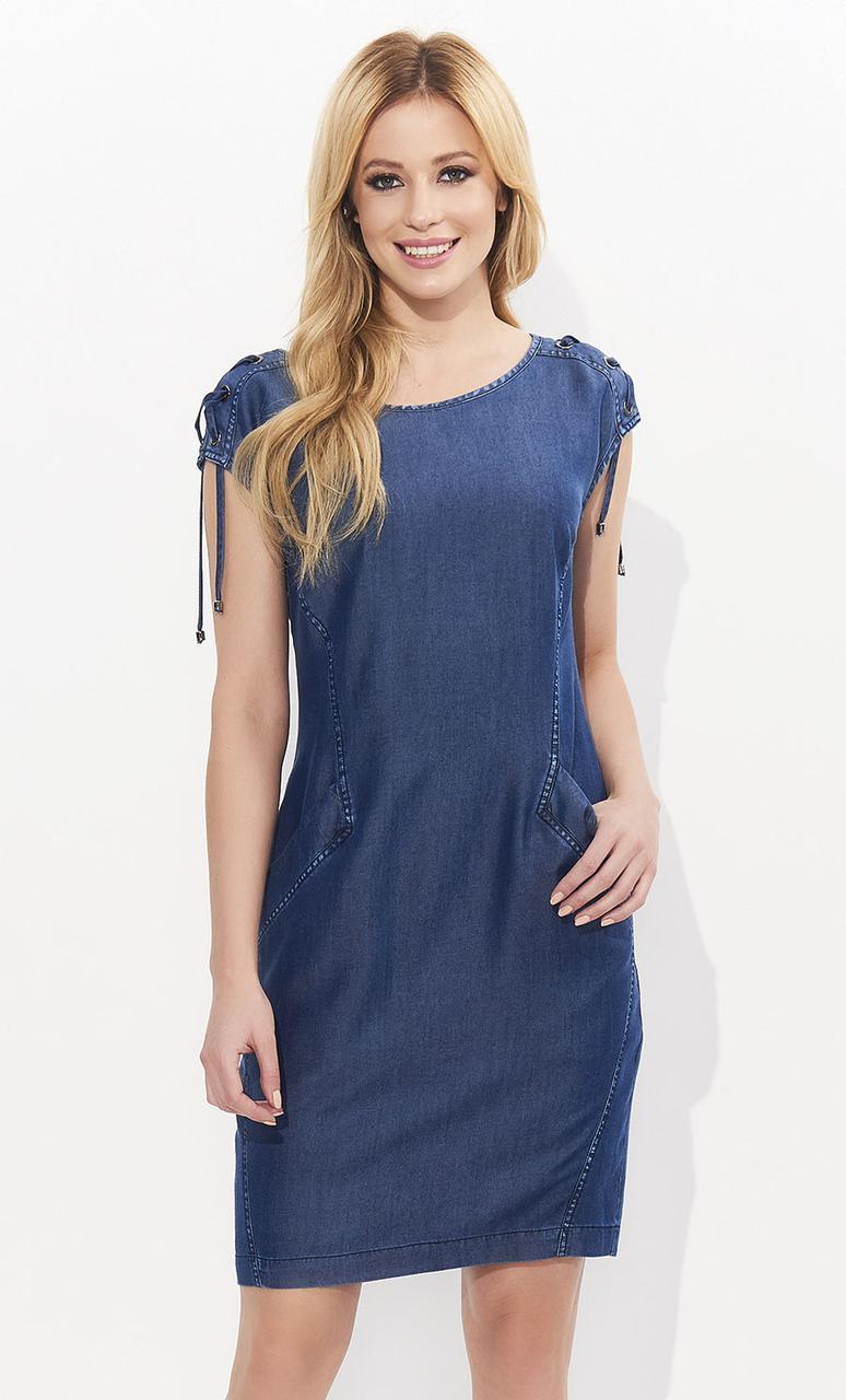 Летнее платье Sue Zaps джинсового цвета. Размер S
