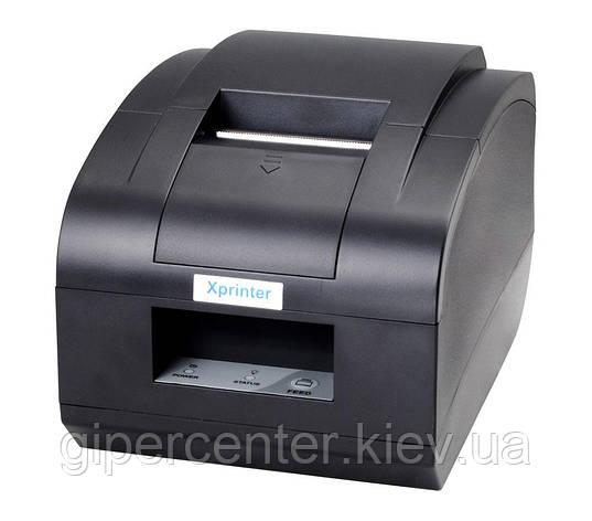 Чековый принтер XPrinter XP-T58NC LAN с автообрезчиком, фото 2