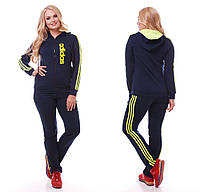 Спортивный костюм женский большие размеры РО5050, фото 1