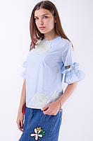 Блузка с оригинальными рукавами