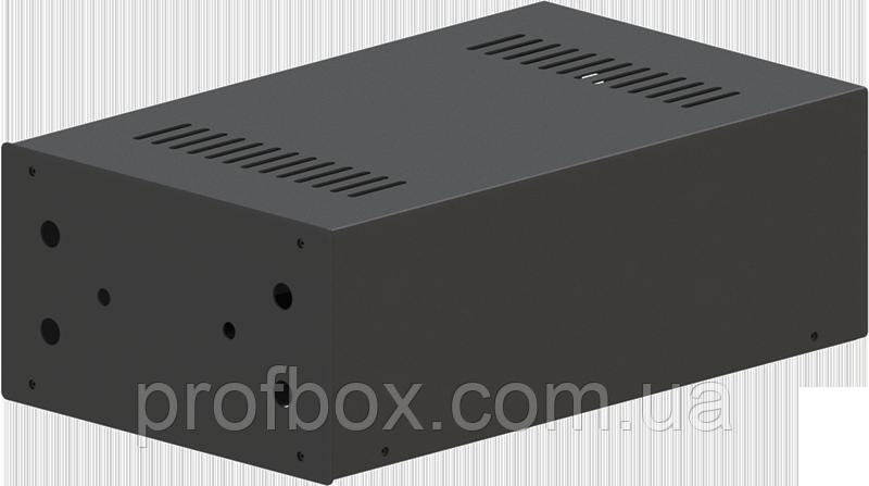 Корпус для фонокореткора, MB-FK1 (Ш184 Г301 В103) чорний, RAL9005(Black textured)