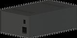 Корпус для фонокореткора, MB-FK1 (Ш184 Г301 В103) чорний, RAL9005(Black textured), фото 2