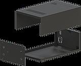 Корпус для фонокореткора, MB-FK1 (Ш184 Г301 В103) чорний, RAL9005(Black textured), фото 3